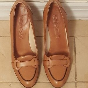 RALPH LAUREN COLLECTION Tan Shoes Heels Pumps